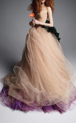 Vera Wang Anna Strapless Ballgown