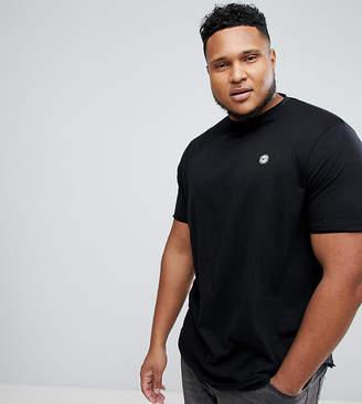 Le Breve Plus Raw Edge Longline T-Shirt