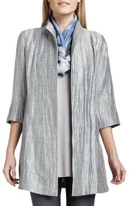 Eileen Fisher Silk Shibori Daydream Scarf $168 thestylecure.com