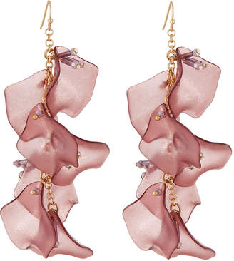 Lydell NYC Linear Drop Earrings
