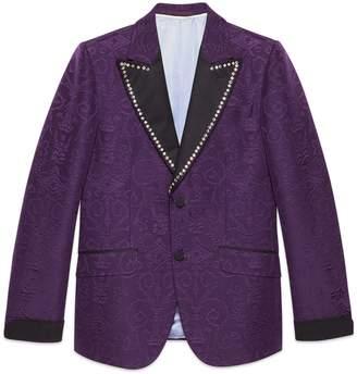 Gucci Brocade jacquard evening jacket