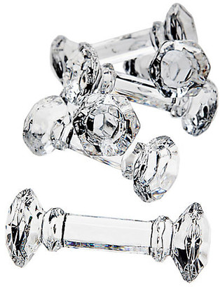 One Kings Lane Set of 6 Lea Knife Rests - Clear