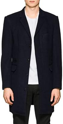 Brooklyn Tailors Men's Wool-Silk Top Coat