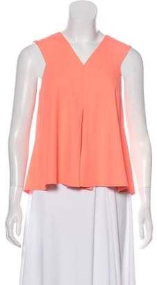 Opening Ceremony Sleeveless V-Neck Top