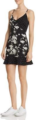 DAY Birger et Mikkelsen Re:Named Geelia Mixed-Print Mini Dress