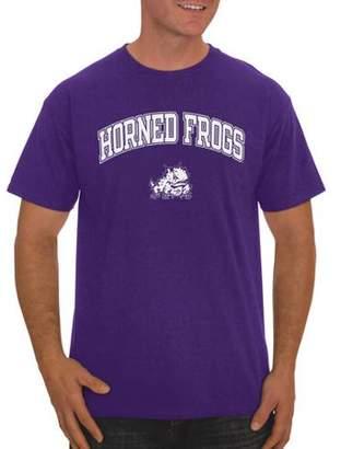 NCAA Russell TCU Horned Frogs Big Men's Classic Cotton T-Shirt