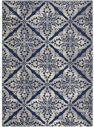 Andover Mills Anzell Blue/Gray Area Rug Rug
