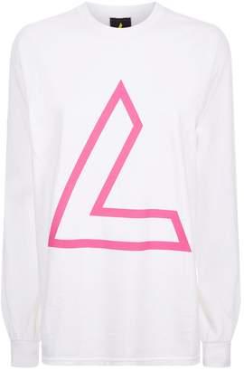 A Gold E Agolde Alba Long Sleeve T-Shirt