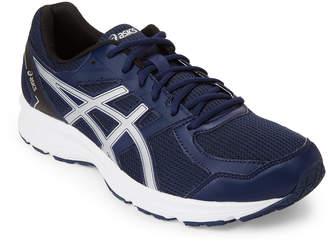 Asics Indigo Blue & Silver Jolt 4E Running Sneakers