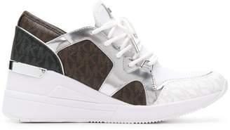 MICHAEL Michael Kors monogram print sneakers