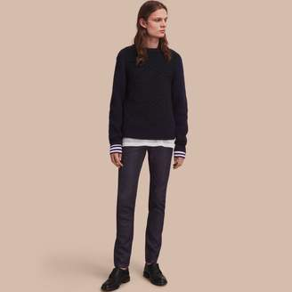 Burberry Slim Fit Raw Indigo Denim Jeans