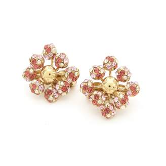 Louis Vuitton Gold Metal Earrings