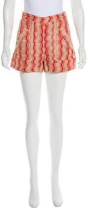 Rachel Comey Patterned Mini Shorts