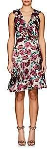 Saloni WOMEN'S FLORAL BURNOUT RITA C DRESS SIZE 8