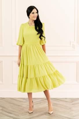 Rachel Parcell Autumn Apple Dress