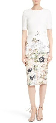 Women's Ted Baker London Layli Sheath Dress $315 thestylecure.com