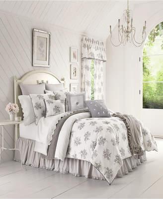 Sabrina Piper & Wright Grey King Comforter Set Bedding