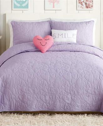 Urban Playground Heart 5-Pc. Full/Queen Quilt Set Bedding