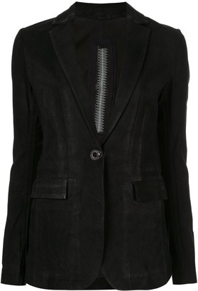 Isaac Sellam Experience classic slim-fit blazer