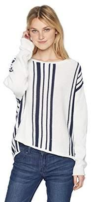 Roxy Junior's Monument Border Sweater
