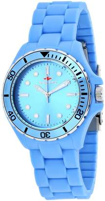 Seapro Women's Spring 36mm Silicone Band Steel Case Quartz Watch Sp3211