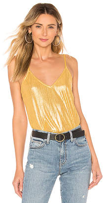 by the way. Tanya Metallic Bodysuit