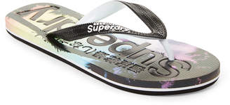 Superdry Rainbow Palms All Over Print Flip Flops