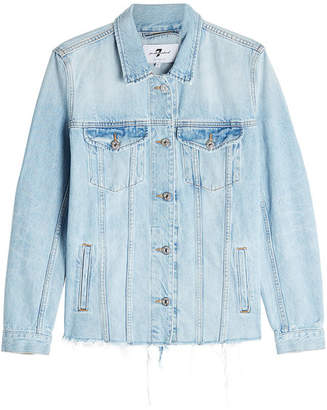 7 For All Mankind Oversized Denim Jacket