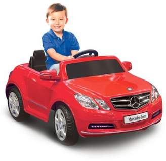 Kid Motorz Mercedes Benz E550 1-Seater 6-Volt Ride-On in Red $209.99 thestylecure.com