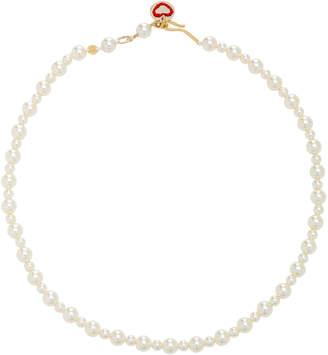 Swarovski Roxanne Assoulin Bubble Pearl Gold-Tone Necklace