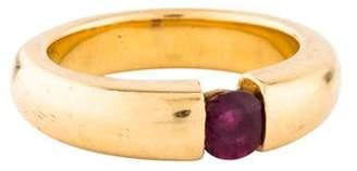 Ring 18K Ruby Band