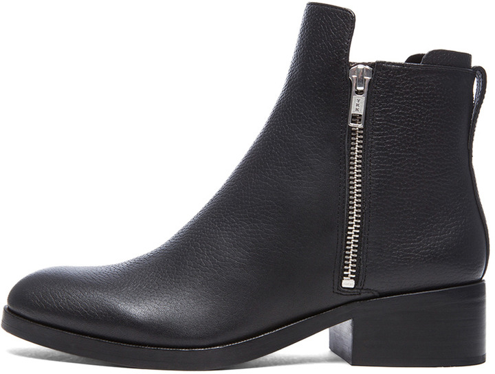 3.1 Phillip Lim Alexa Cow & Sheepskin Leather Boots