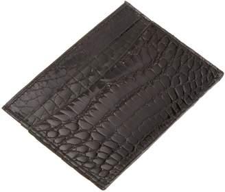 Trafalgar Men's Alligator Slim Card Case