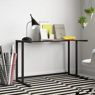 Zipcode Design Clarkston Writing Desk with Pedestal Frame Zipcode Design