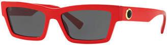 Versace Acetate Cat-Eye Sunglasses