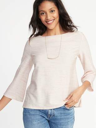 Old Navy Textured Boat-Neck Top for Women
