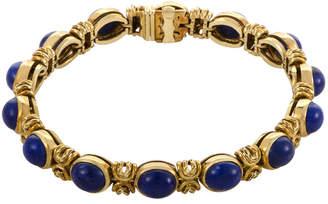 Van Cleef & Arpels Heritage  18K Lapis Lazuli Bracelet