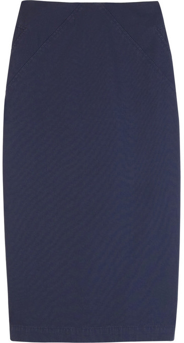 McQ Cotton-gabardine pencil skirt