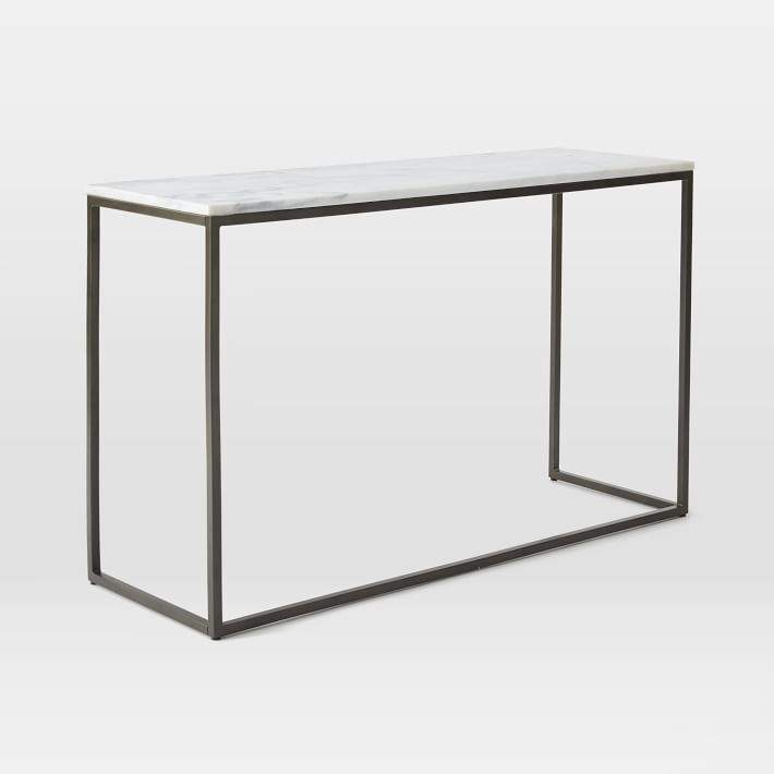 Box Frame Console - Marble