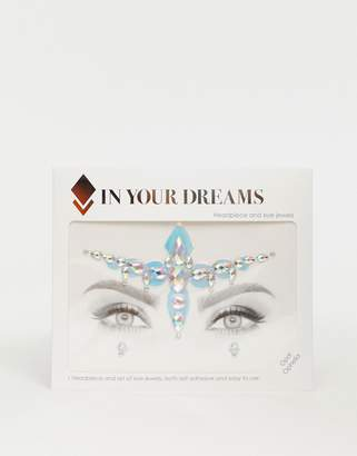 Ophelia In Your Dreams Opal All In One Face Gem and Holographic Sticker