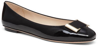 Delman Froth Patent Leather Flats $228 thestylecure.com