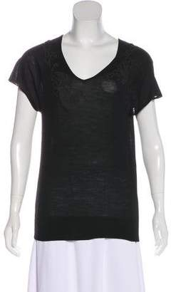 Sharon Wauchob Embroidered Short Sleeve Top