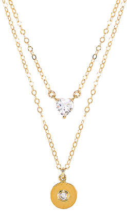 Paradigm X REVOLVE Double Mon Coeur Romeo Coin Necklace