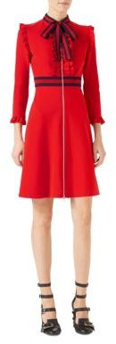 Gucci Gucci Viscose Jersey Dress