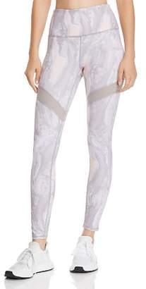 Gaiam X JESSICA BIEL Bleeker High-Waist Marble Print Leggings