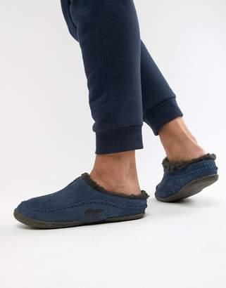 Sorel Falcon Ridge slippers in navy