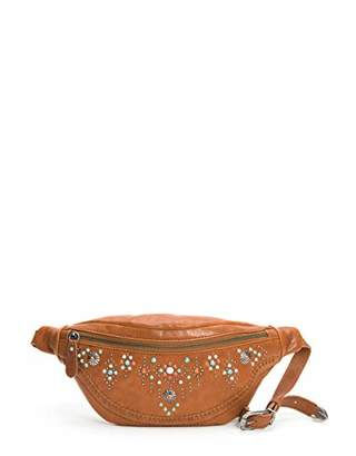 Frye Concho Stud Leather Hip Pack Belt Bag