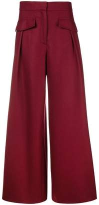 Miahatami high waisted palazzo trousers
