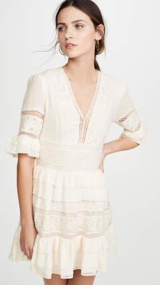Love Sam Chateau Embellished Mini Dress
