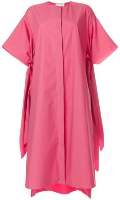 DELPOZO poplin tunic dress